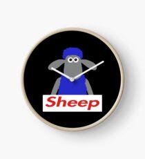 sheep box logo Clock