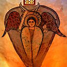 Coptic Archangel by Nigel Fletcher-Jones