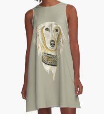 Noble Desert Hound A-Line Dress