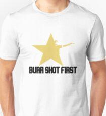 Burr shot first black T-Shirt