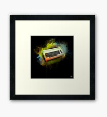Commodore 64 TRIBUTE - Dark Edition Framed Print