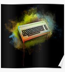 Commodore 64 TRIBUTE - Dark Edition Poster