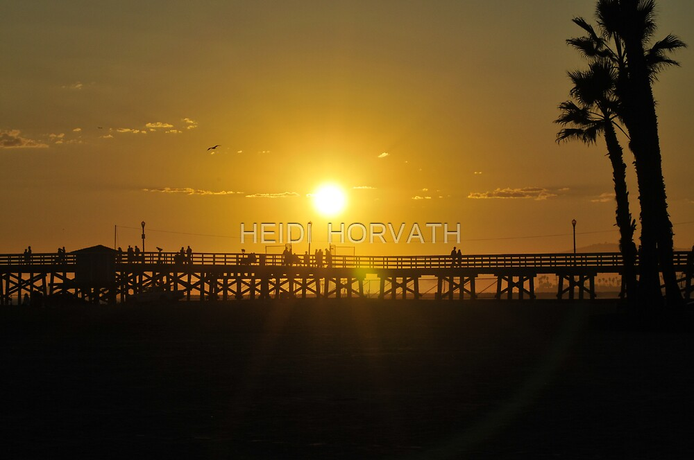 A day is soon ending.. by HEIDI  HORVATH