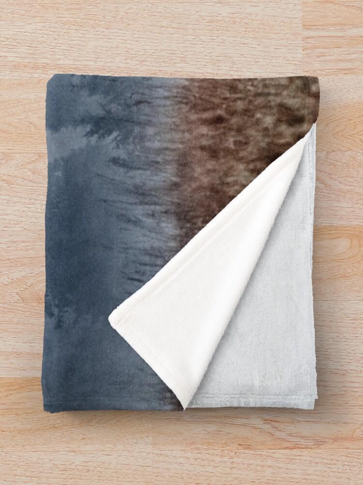 Alternate view of Lost In Fog Throw Blanket