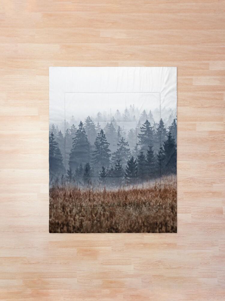 Alternate view of Lost In Fog Comforter