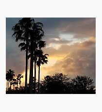 Sunset in St. Augustine, Florida Photographic Print