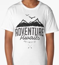 ADVENTURE AWAITS Long T-Shirt
