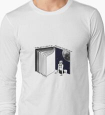 traveling with books Long Sleeve T-Shirt