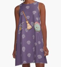 Witches, witches, witches A-Line Dress