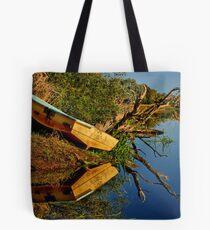 """Creekside Reflections"" Tote Bag"