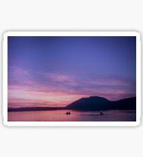 Vancouver Island Sunsets Sticker