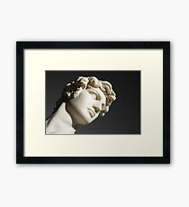 David portrait 2 Framed Print
