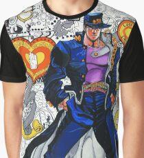 JOJO jotaro kujo 3 Graphic T-Shirt