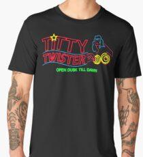 Titty Twister - Neon Revamped HD Men's Premium T-Shirt