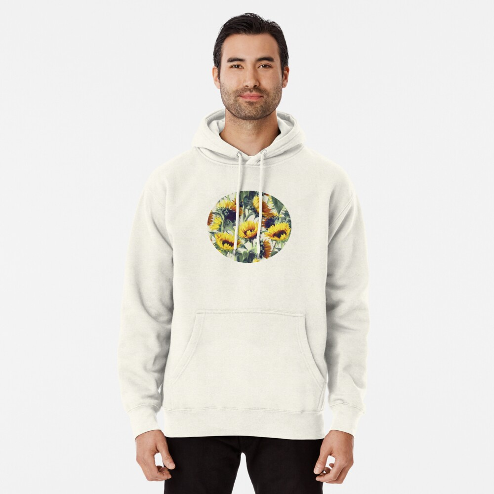 Sunflowers Forever Pullover Hoodie