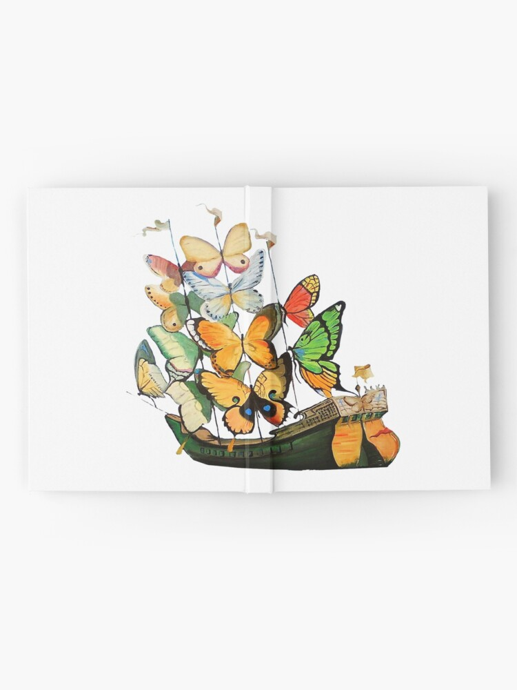 Alternate view of Salvador Dali Ship with Butterfly Sails Hardcover Journal