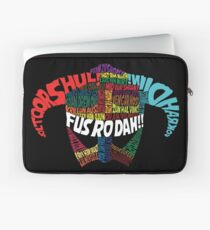 Powered by words! Laptop Sleeve