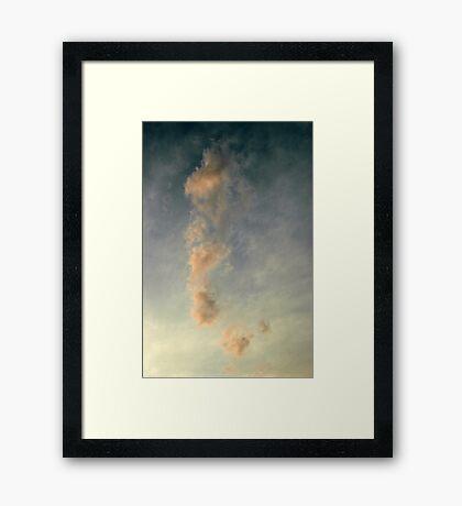 Ethereal Casper Framed Print
