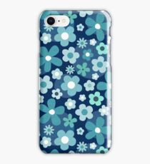 Groovy Baby - Indigo and Mint iPhone Case/Skin