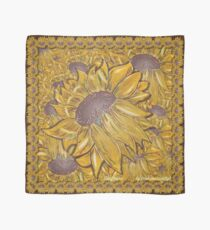 D1G1TAL-M00DZ ~ FLORAL ~ Glazed Sunflower by tasmanianartist Scarf
