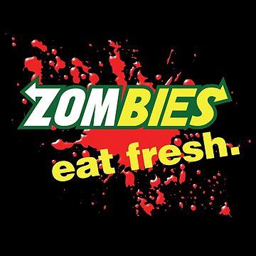 Zombies essen frische Variante von Purakushi