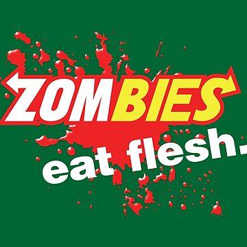Zombies essen Fleisch-Blut-Variante von Purakushi