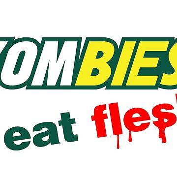 Zombies essen Fleisch von Purakushi