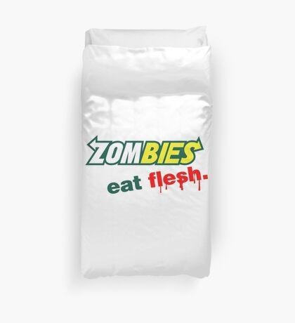 Zombies essen Fleisch Bettbezug