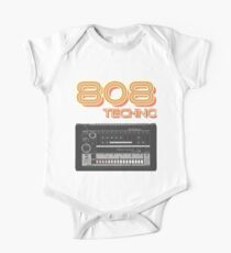 TR-808 Techno  One Piece - Short Sleeve
