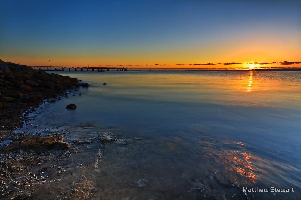 Wellington Point Sunrise by Matthew Stewart