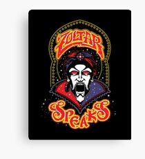 Zoltar Speaks Big - Red Variant Canvas Print