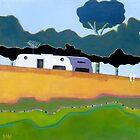 "Australian Backyard - Series No.2 by Belinda ""BillyLee"" NYE (Printmaker)"