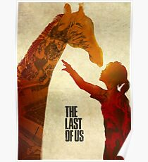 Póster The Last of Us - Ellie and the Giraffe