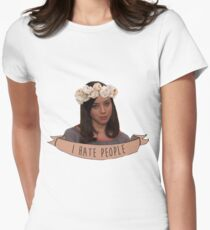 April Ludgate Women's Fitted T-Shirt