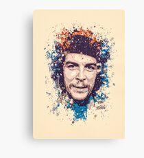 Che Guevara splatter painting Canvas Print