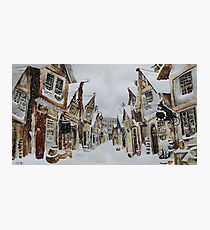 Hogsmeade in the Snow Photographic Print