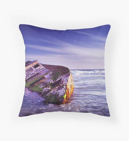 Wrecked. Throw Pillow