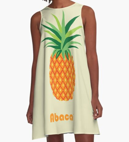 AFE Pineapple A-Line Dress