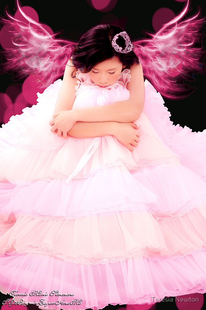 Think Pink Princess by Teresia Newton