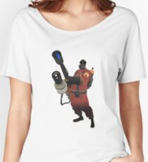 Team Fortress 2 - Pyro Women's Relaxed Fit T-Shirt