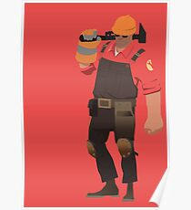 Team Fortress 2 - Engineer Poster