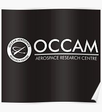 Occam Aerospace Research Centre : Inspired by The Shape of Water Poster