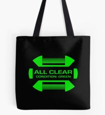 Condition Green : Inspired by Star Trek Tote Bag