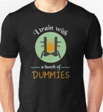 Wing Chun Dummies T-Shirt