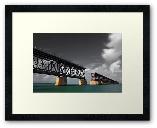 Old Bahia Honda Bridge by Denis Wagovich