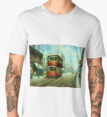 Stockport tram. Men's Premium T-Shirt