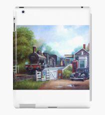 Early railway painting. iPad Case/Skin