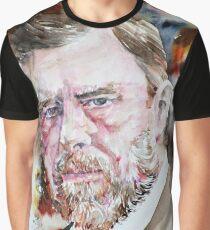 BRAM STOKER - watercolor portrait Graphic T-Shirt