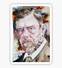 BRAM STOKER - watercolor portrait Sticker