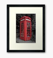 Telephone Engaged Framed Print